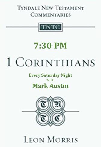 1 Corinthians with Mark Austin