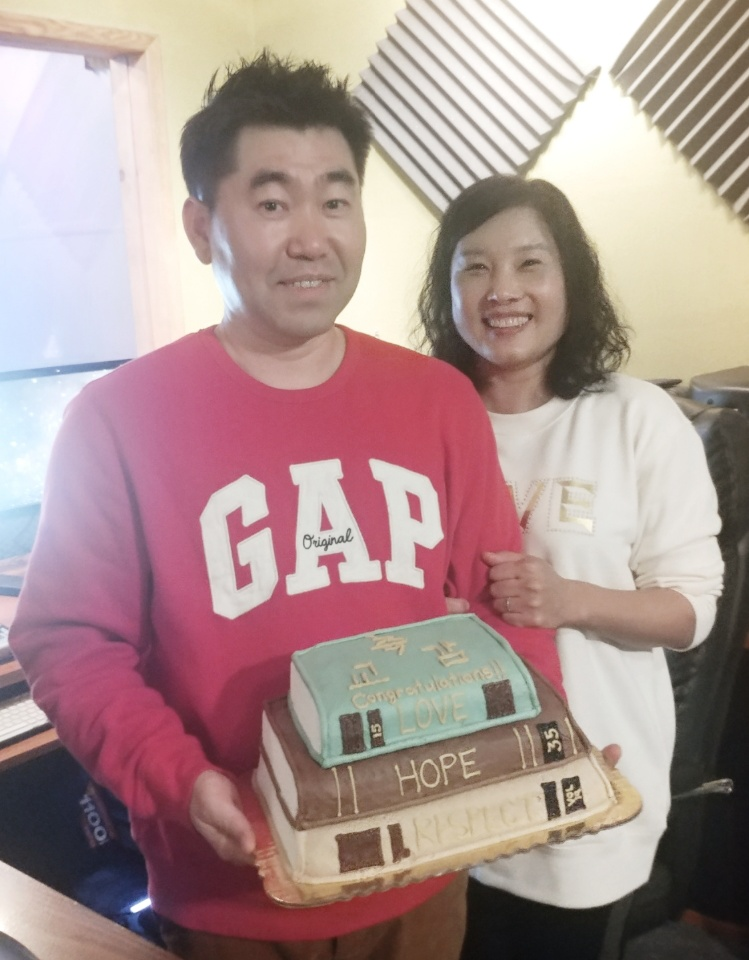 Congratulations! The Suh Family!