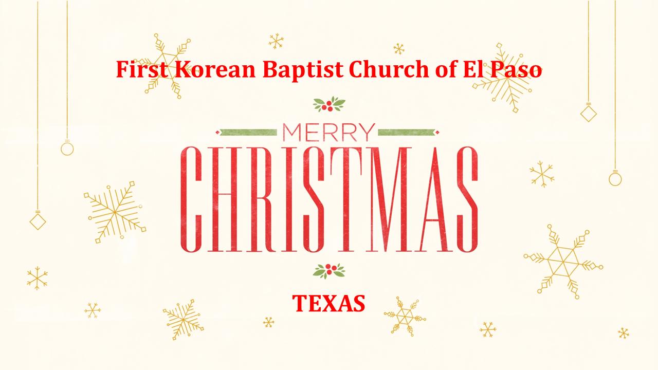 Blessed Christmas [El Paso, Texas]