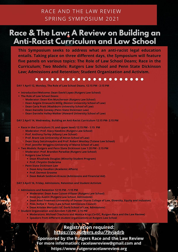 Building an Anti-Racist Curriculum Flyer
