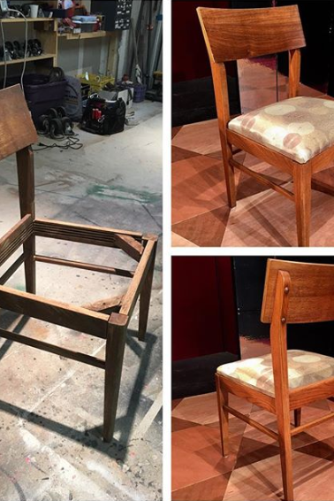chair repair and refinish