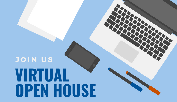 Upcoming Virtual Open House and Academic Week