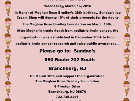 Sundae's Ice Cream Fundraiser