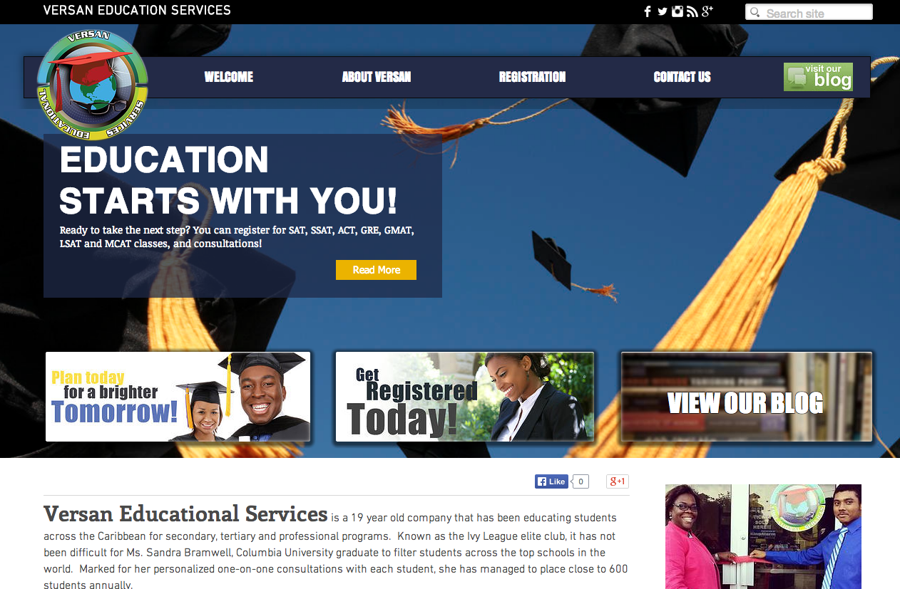 versan educational services portfolio