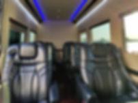 Interior of Luxury 8 PAX Sprinter