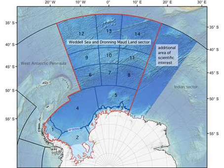Workshop Announcement: The Southern Ocean in the Weddell Sea and off Dronning Maud Land