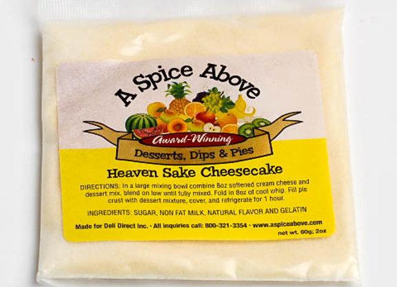 Heaven Sake Cheesecake