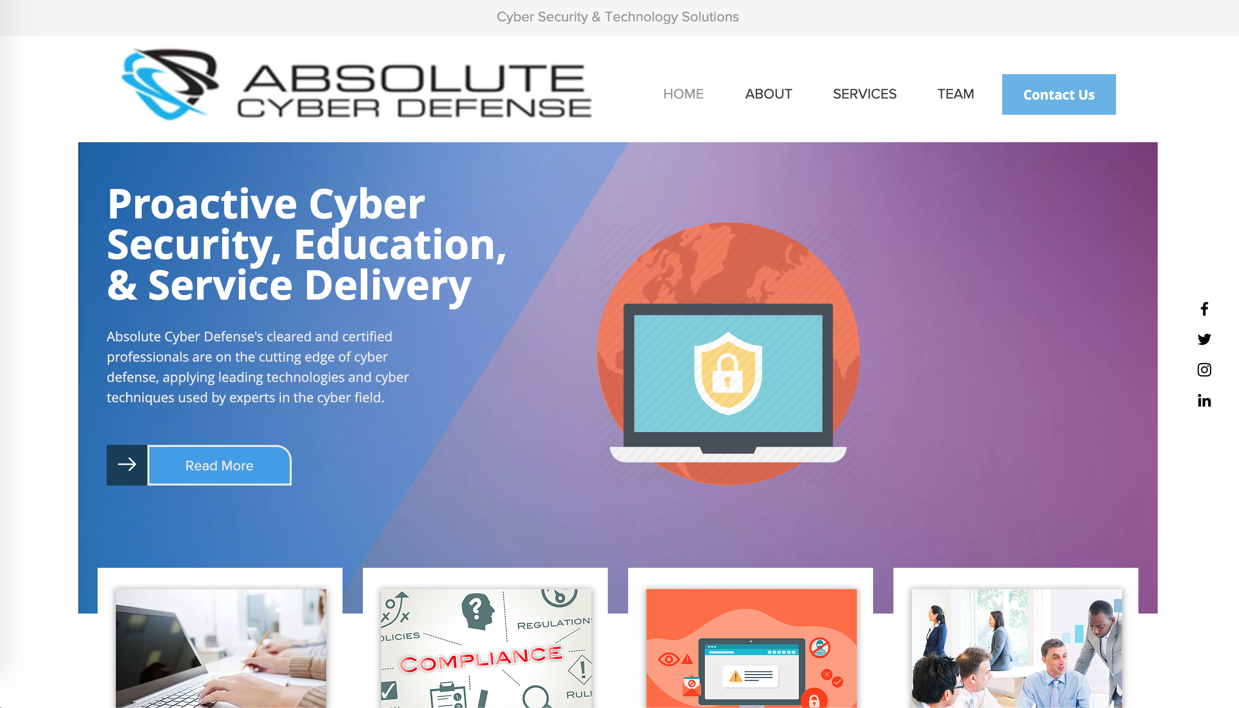 absolute cyber defense portfolio