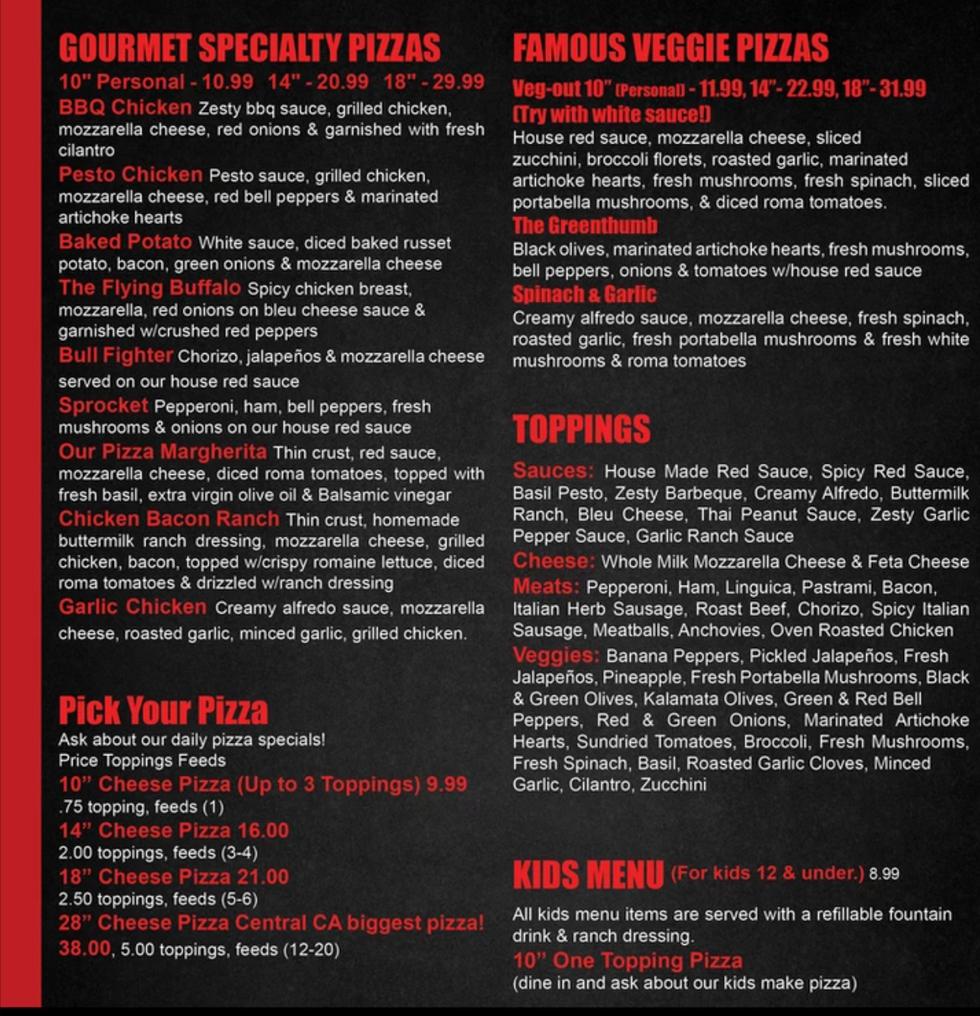 fatte gourmet pizza menu.png