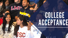 College Acceptances - Crazy Year