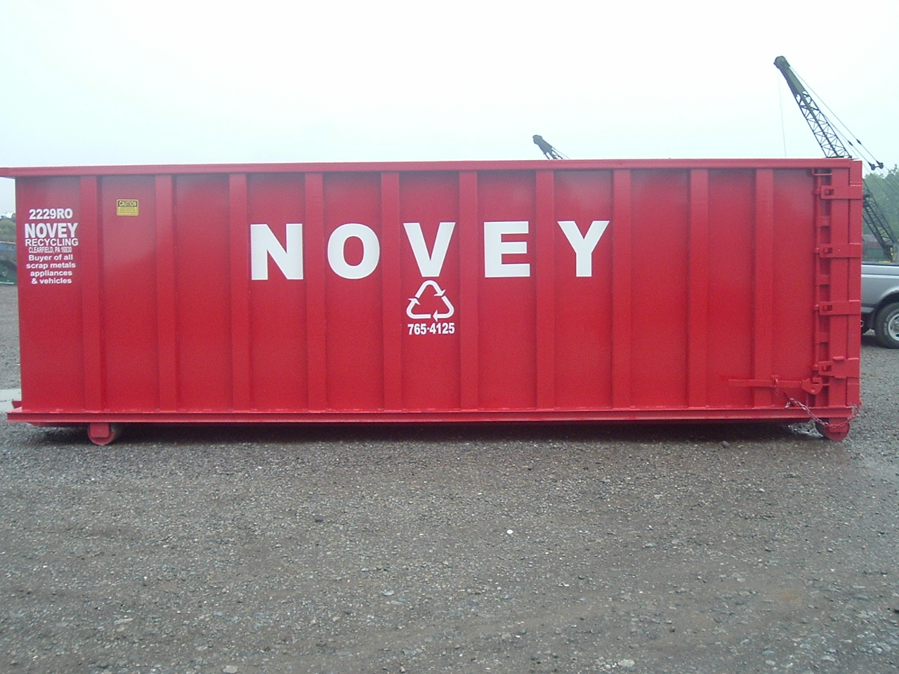 Large Novey Container