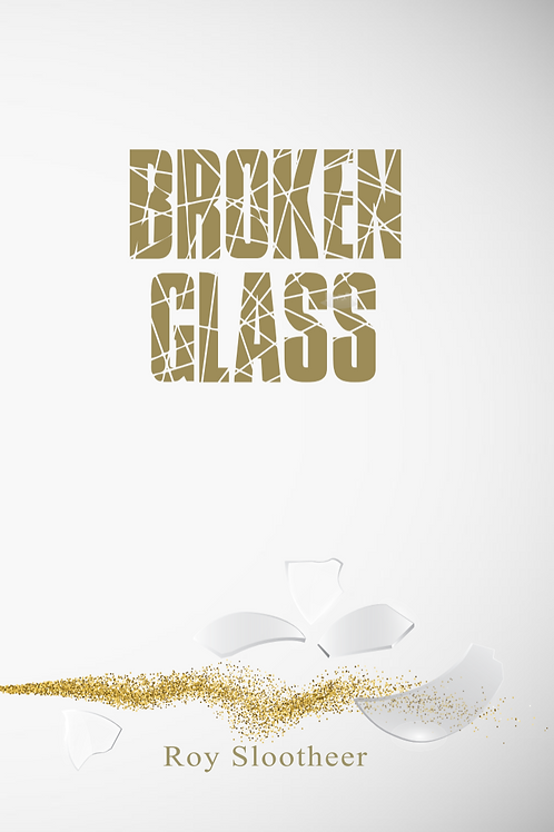 Broken Glass - Signed Copy by Roy Slootheer