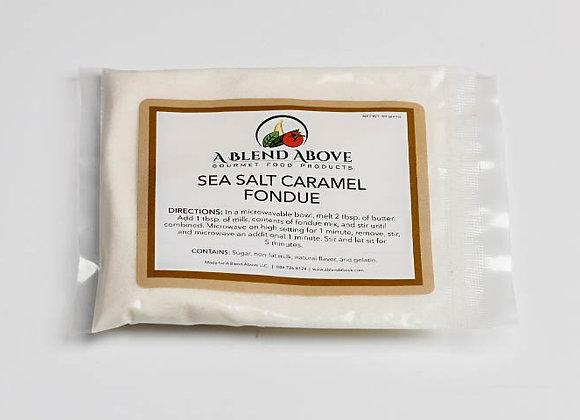 Sea Salt Caramel Fondue
