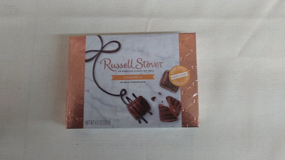 Candy - Small Box Russell Stover Caramels