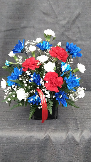 God Bless American Carnations