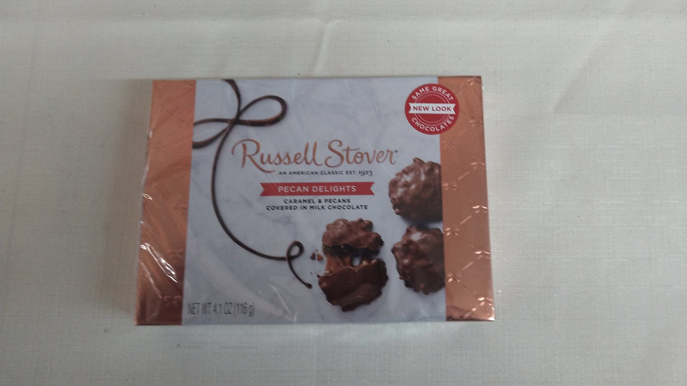 Candy - Small Box Russell Stover Pecan Delights