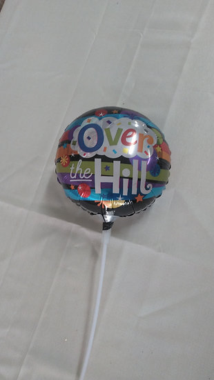 "Balloon 6"" With Pick  B4"