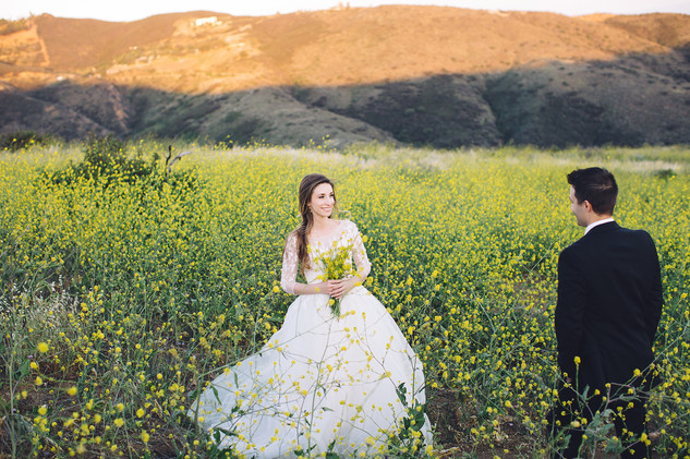 Yellow Flowers Malibu Wedding23.jpg
