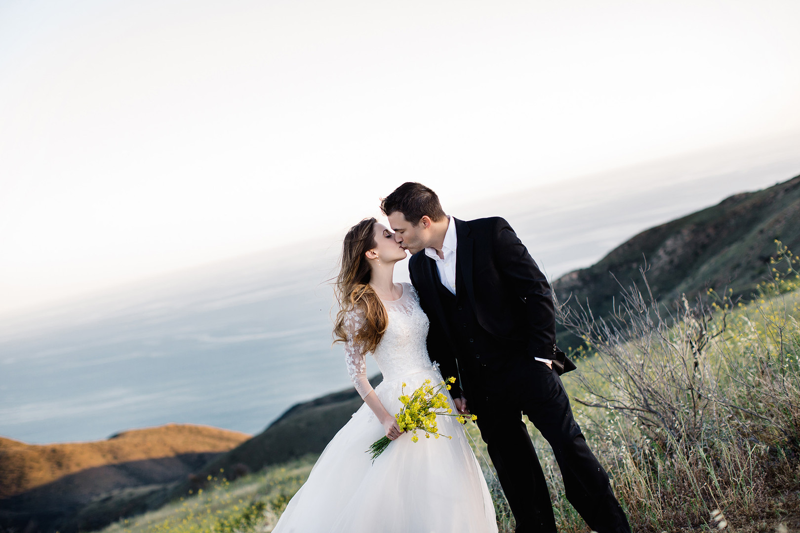 Yellow Flowers Malibu Wedding17.jpg