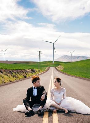 美国俄勒冈波特兰旅拍婚纱照