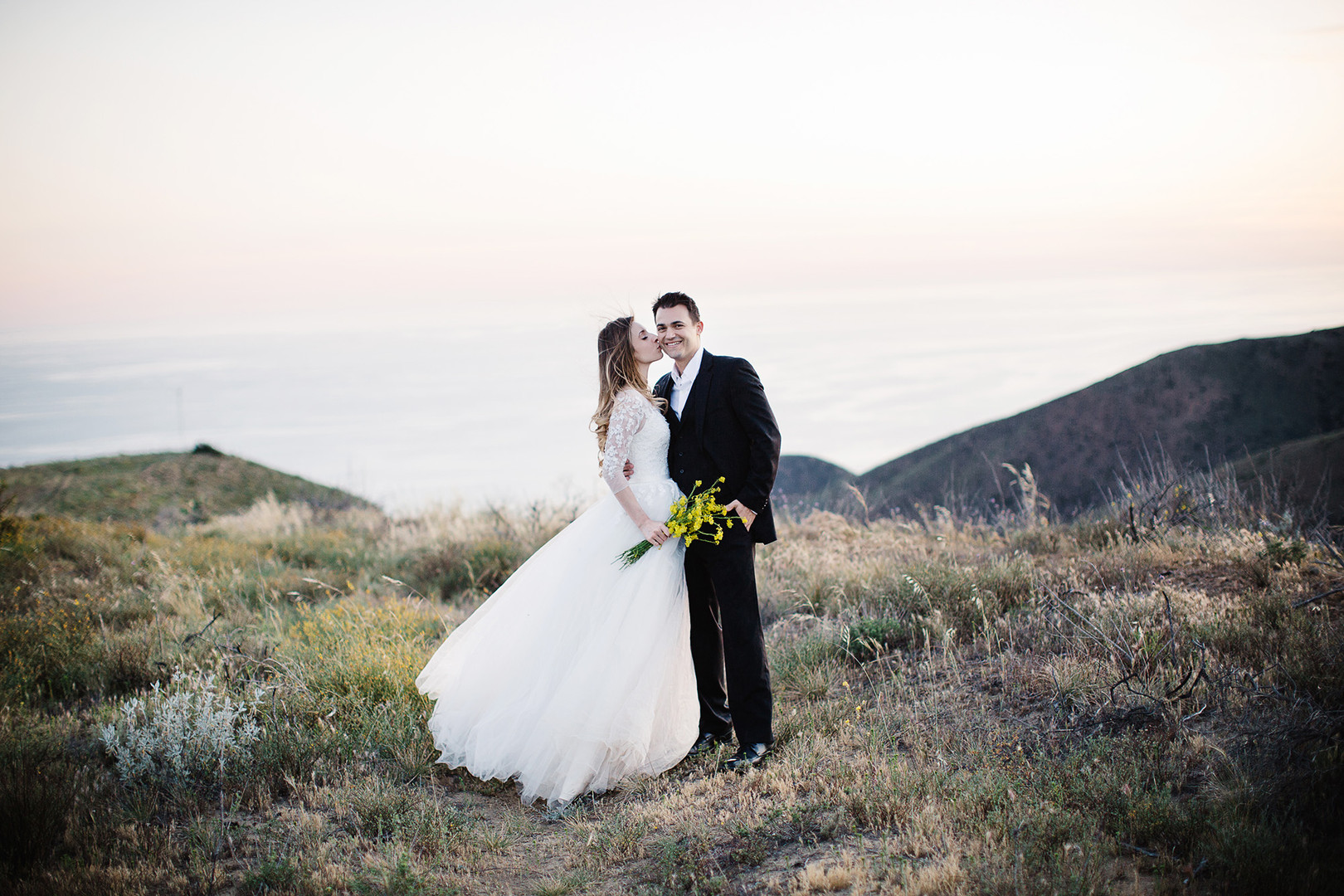 Yellow Flowers Malibu Wedding4.jpg