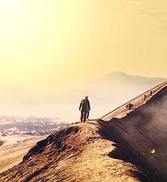 火山ハイカー