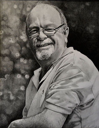 Father Comission - Graphite Pencil - 201