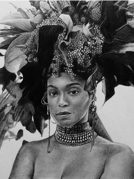 Graphite Pencil - Beyonce 2 - 2018.png