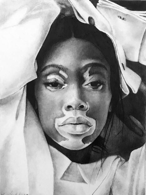 Graphite Pencil - Winnie Harlow - 2019.J