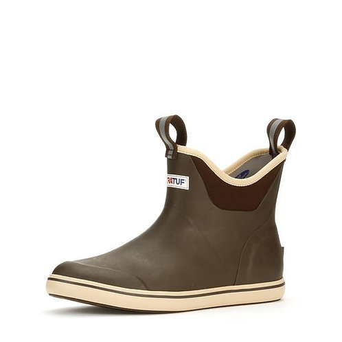 "Xtratuf 6"" Full Rubber Deck Boot Chocolate/Tan"