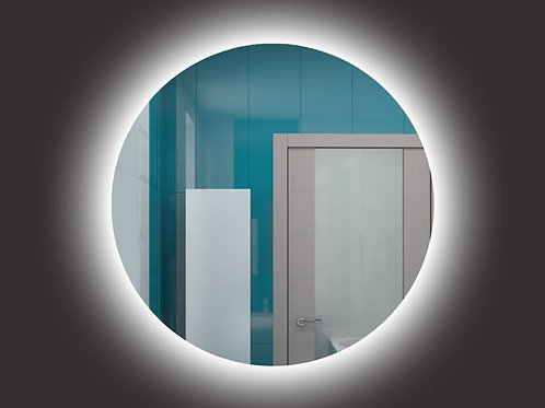 Зеркало круглое с контурной подсветкой