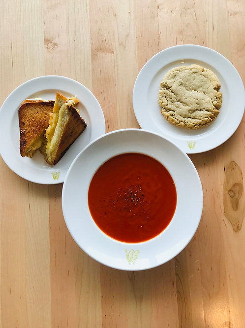 Grilled Cheese & Tomato Soup **Available between 4:30-7pm only**