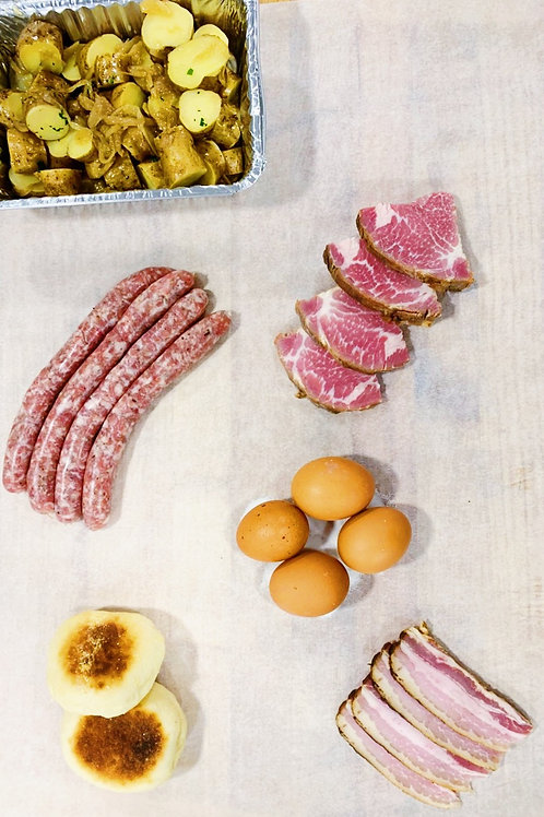 Meat & Eggs - Saturday and Sunday Brunch