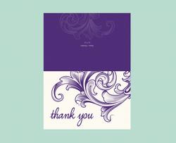 Fancy Scroll - Thank You