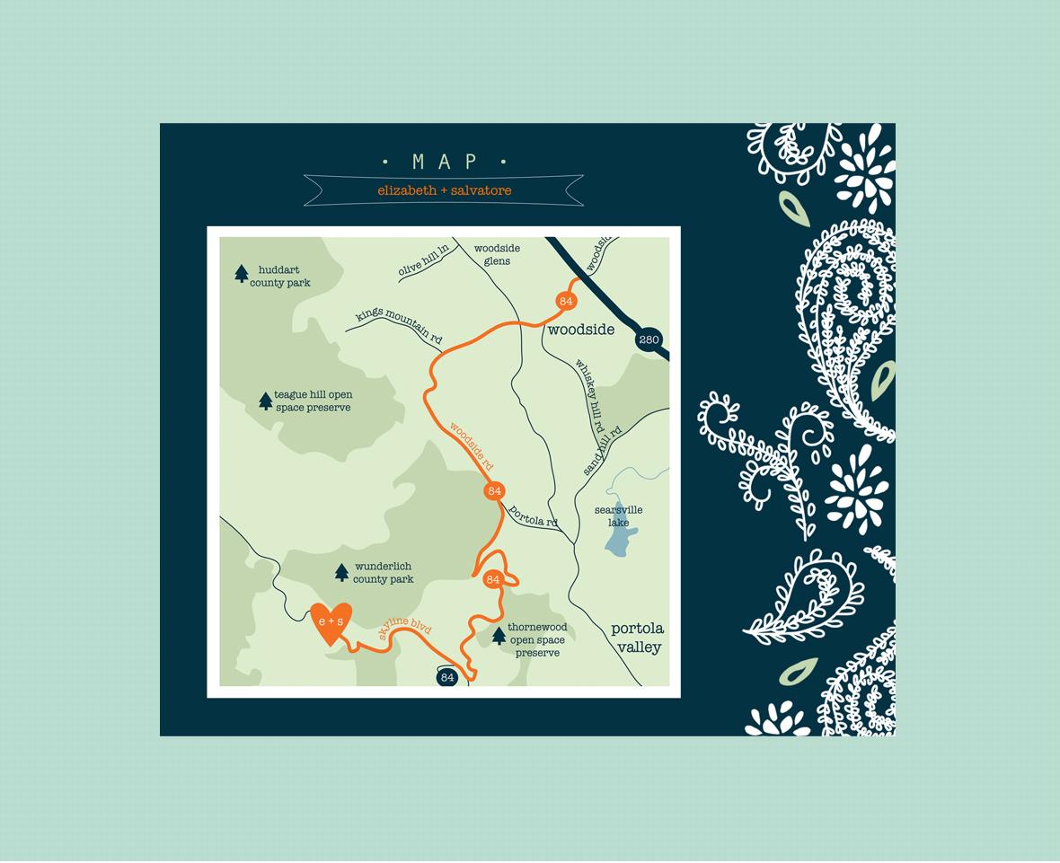 Cowboy Paisley - Map