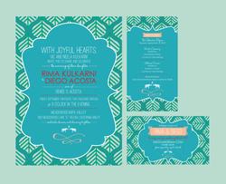 India Inspired - Wedding Invite