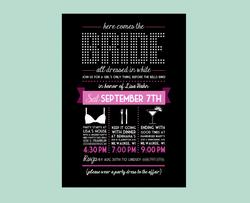 Bridal Fun - Bachlorette Invite