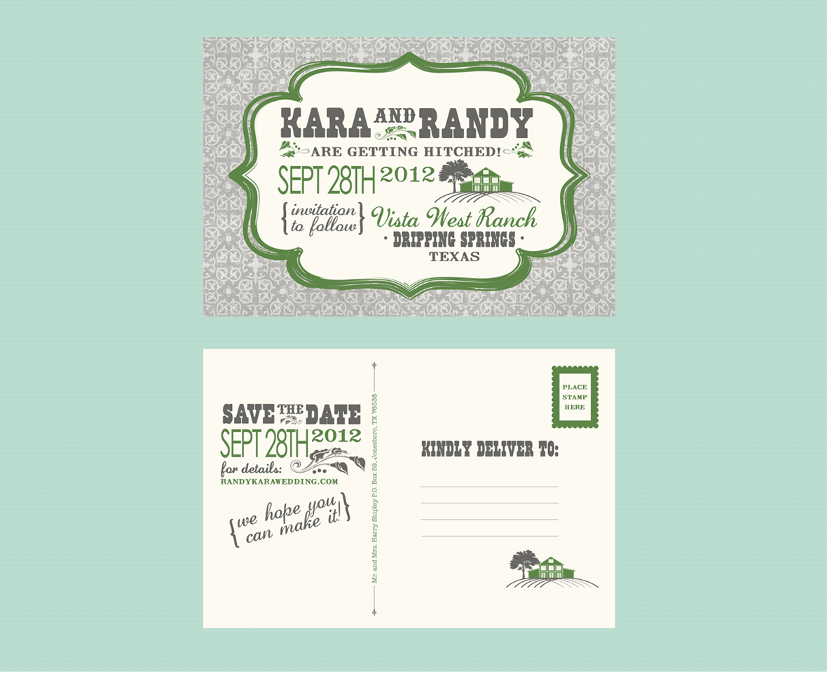 Barn Affair - Save The Dates