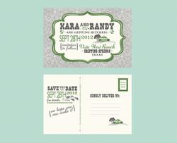 Barn Affair - Save The Dates