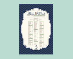 By The Sea - Seating Chart