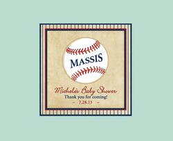 Baseball Baby - Favor Tag