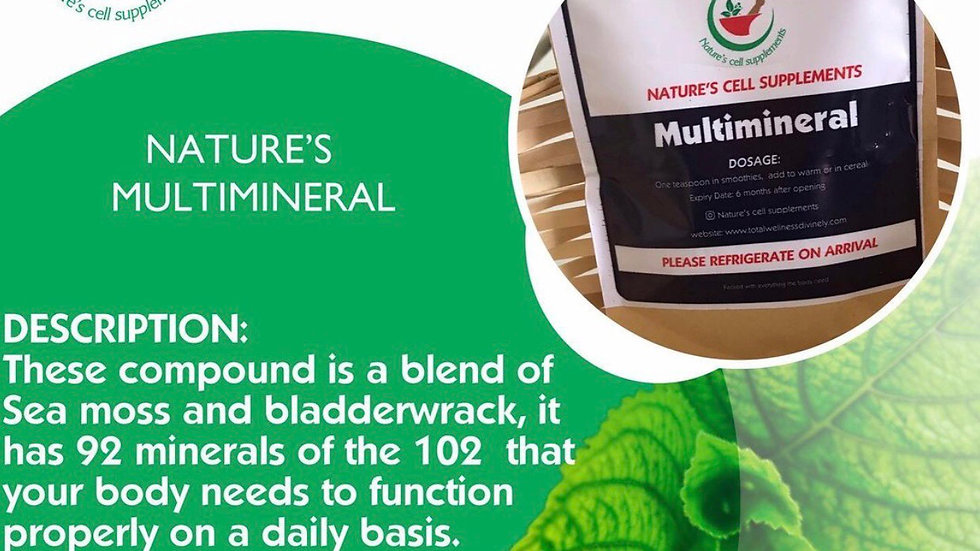 Nature's Multimineral
