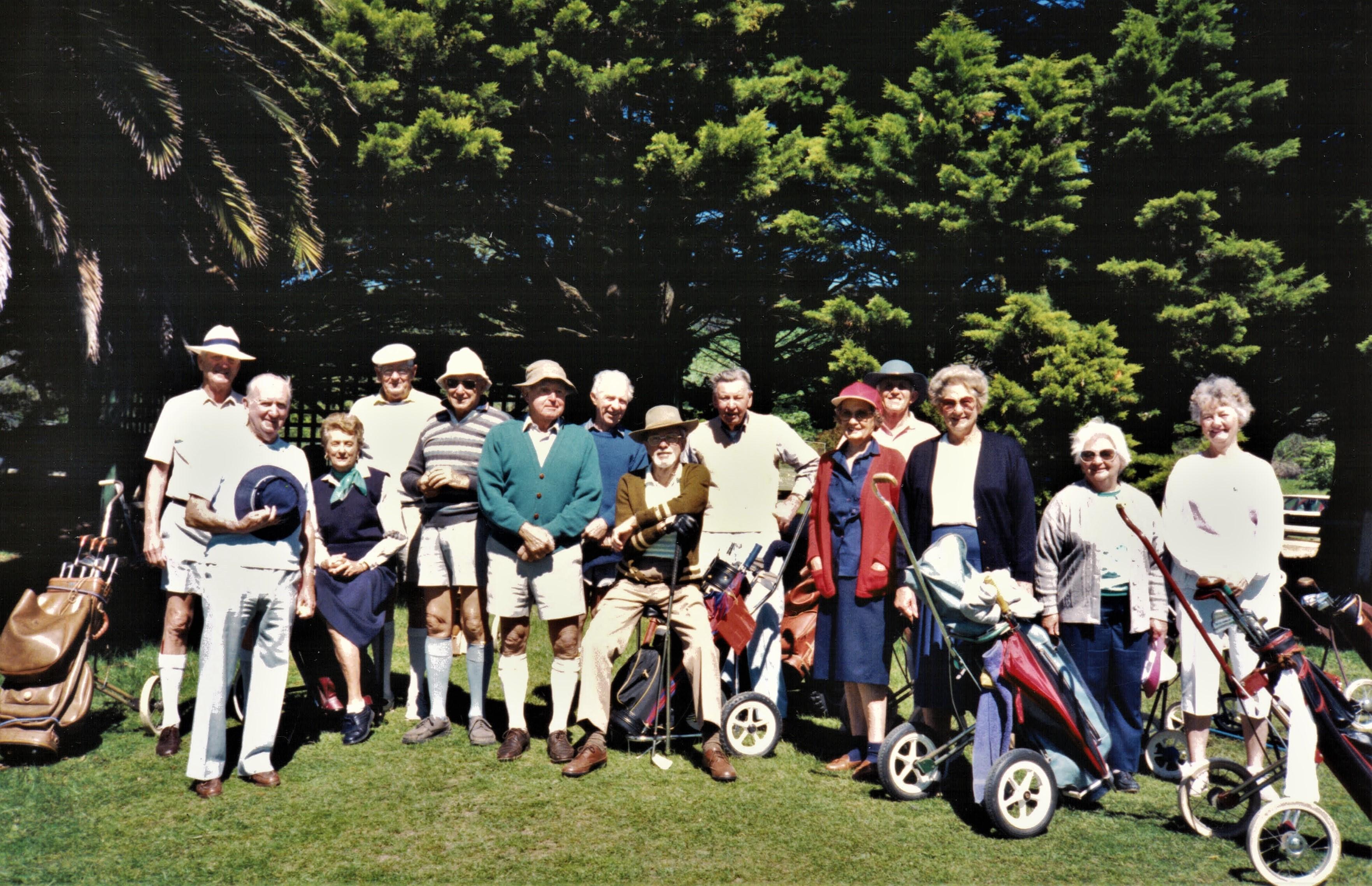 1990 Activities Golf Week at Bowral Octo