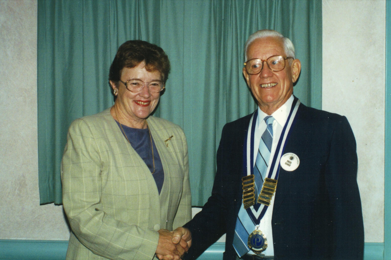 1997 Meetings Guest Speaker Shirley Sinc