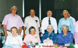 2000 Activities Christmas Luncheon at Av