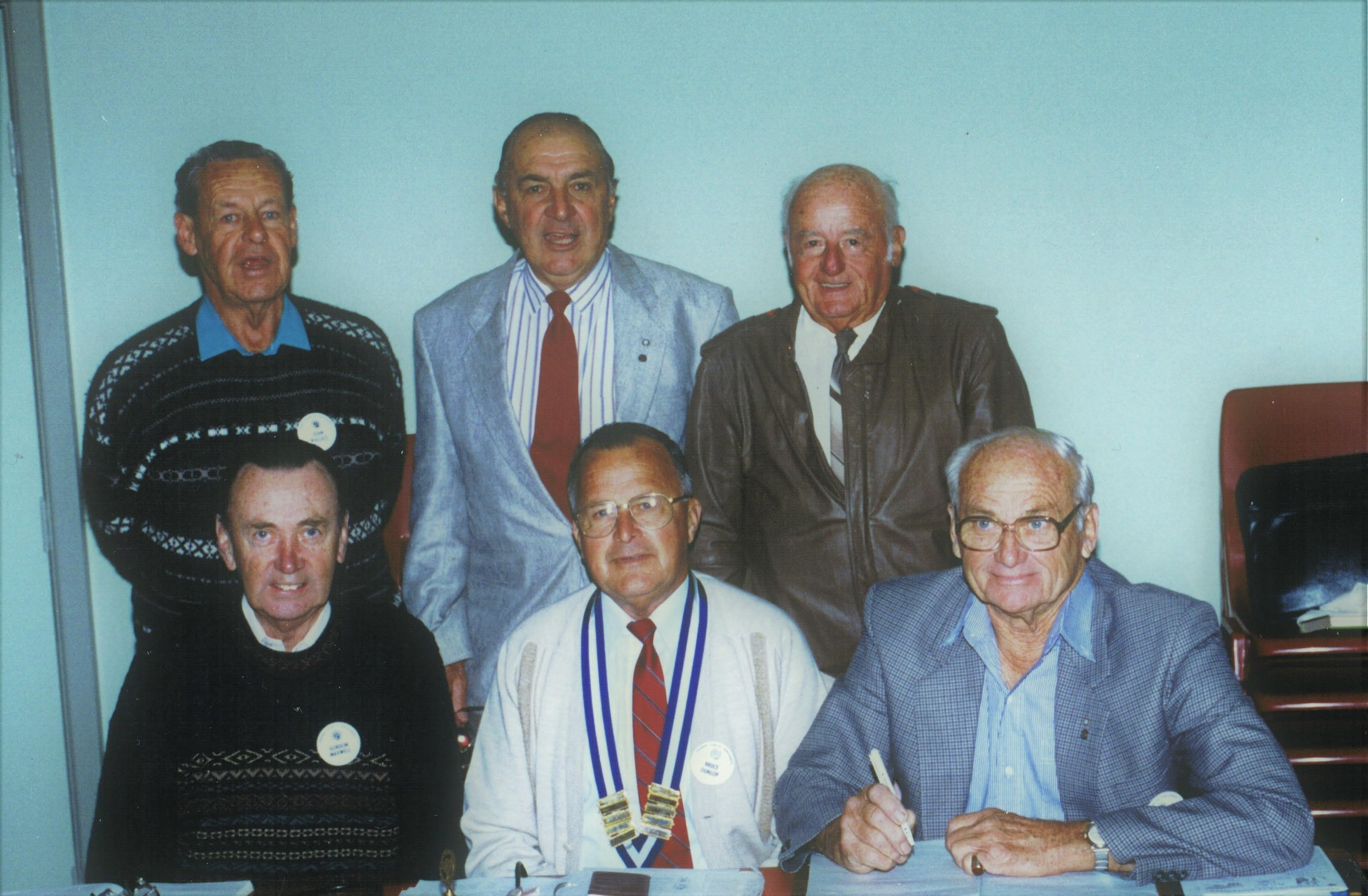 1993 Meetings Executive Committee 24-7-9
