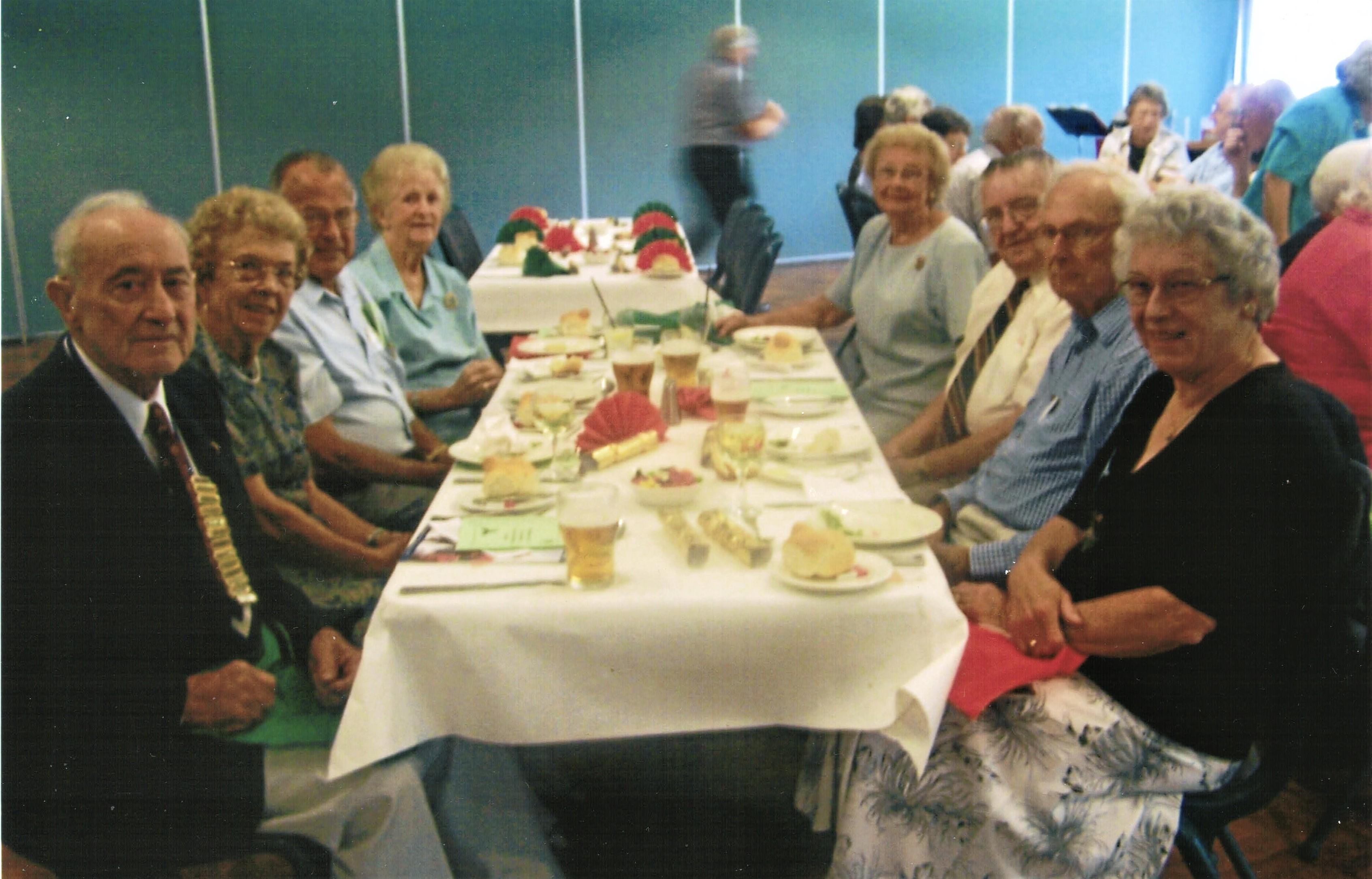 2008 Activities Christmas Luncheon at Av