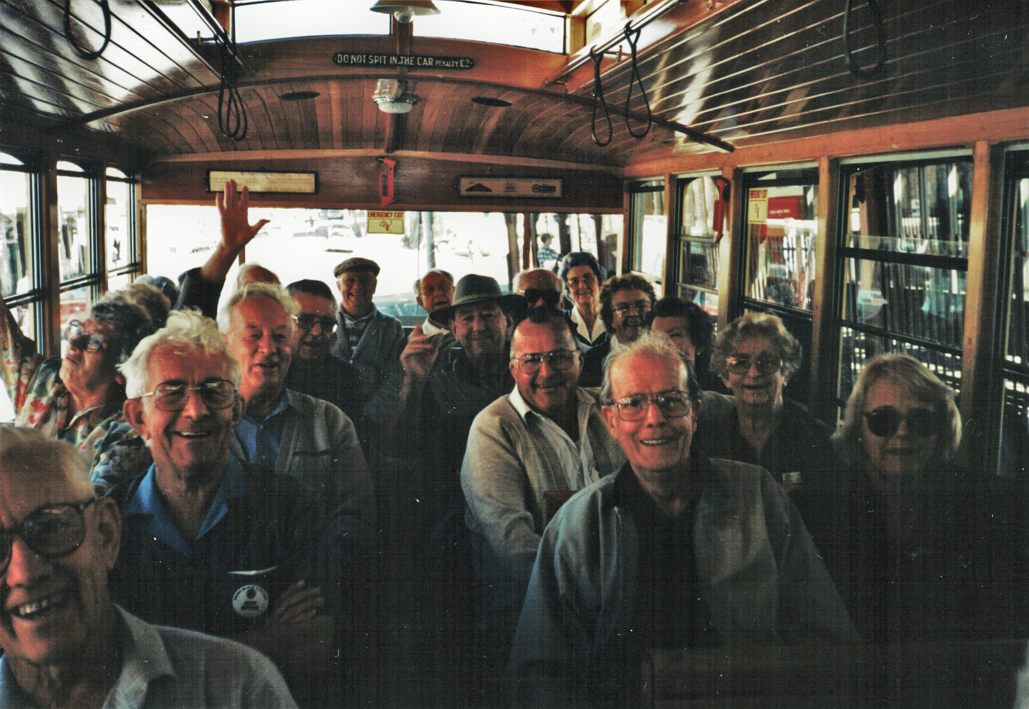 1996 Outings Tram Trip Newcastle 10-9-96