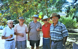 2001 Outings Australia Day at Avoca Rese