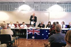 2007 Activities Annual Debate 25-8-07